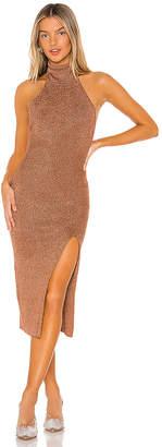 superdown Arima Halter Sweater Dress