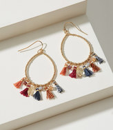 LOFT Tassel Teardrop Earrings