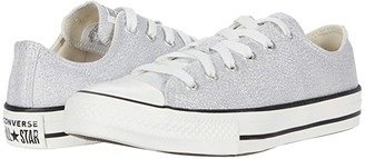 Converse Chuck Taylor(r) All Star(r) Summer Sparkle - Ox (Little Kid/Big Kid) (Photon Dust/Natural Ivory/Vintage) Girl's Shoes