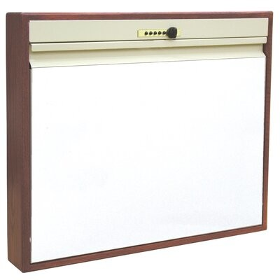 Thumbnail for your product : Symple Stuff Berkowitz Floating Desk Color: Cherry