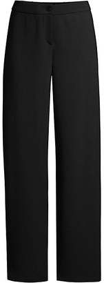 Eileen Fisher Travel Ponte Straight Pants
