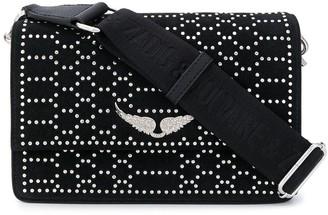 Zadig & Voltaire Lolita studded shoulder bag