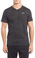 Under Armour 'Streaker Run' Microthread V-Neck T-Shirt