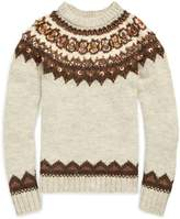 Ralph Lauren Beaded Fair Isle Sweater