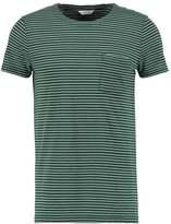 Samsøe & Samsøe Saffron Print Tshirt Dark Green