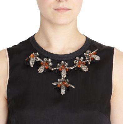 Marni Jewel Neck Dress