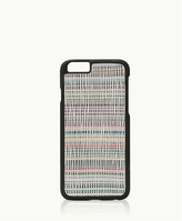GiGi New York iPhone 6/6s Hard-Shell Case Bone Havana Leather