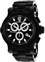 Oceanaut Baccara XL Mens Black Stainless Steel Watch
