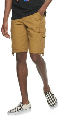 Urban Pipeline Men's Belted Messenger Cargo Shorts