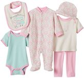 Baby Gear Baby Girl 6-pc. Classic Bodysuit Set