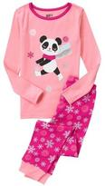 Crazy 8 Panda 2-Piece Pajama Set