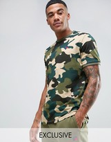 Russell Athletic T-Shirt in Camo