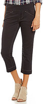Jag Jeans Marion Twill Pull-On Crop Pant