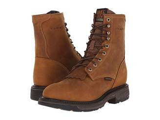Ariat Workhog 8 (Aged Bark) Men's Work Lace-up Boots
