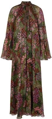 Giambattista Valli Floral-print Silk-chiffon Gown