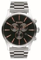 Nixon Women's 'Sentry' Chronograph Bracelet Watch, 42Mm