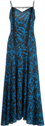 Jason Wu Geometric Print Maxi Dress