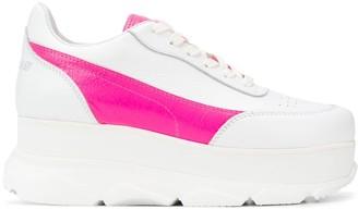 Joshua Sanders Zenith wedge lace-up sneakers