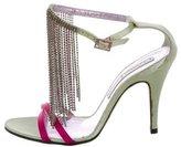 Christian Lacroix Embellished Fringe Sandals