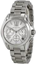 Michael Kors Bradshaw Chronograph Silver Dial Ladies Watch