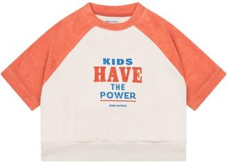 Bobo Choses Multicolor Sweatshirt For Boy With Logo