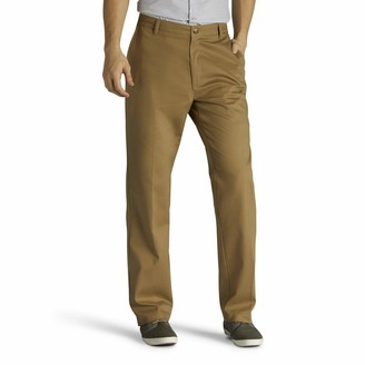 Lee Uniforms Lee Men's Big and Tall Big & Tall Total Freedom Stretch Relaxed Fit Flat Front Pant