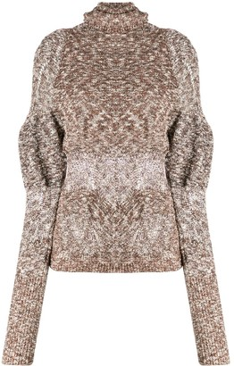 Lemaire distressed detail sweater