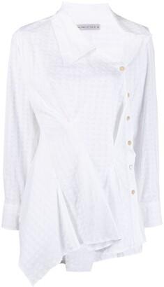 Palmer Harding Asymmetrical Waffle Shirt