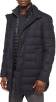 Moncler Vallier Quilted Jacket, Navy