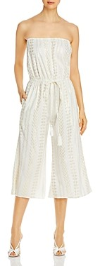 Elan International Strapless Culotte Jumpsuit