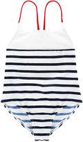 Junior Gaultier striped swimsuit - kids - Polyamide/Spandex/Elastane - 3 yrs