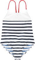 Junior Gaultier striped swimsuit - kids - Polyamide/Spandex/Elastane - 4 yrs