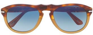 Persol Tortoiseshell Aviator Sunglasses