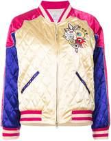 Tsumori Chisato quilted bomber jacket