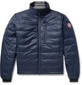 Canada Goose Lodge Packable Quilted Nylon-ripstop Down Jacket - Midnight blue