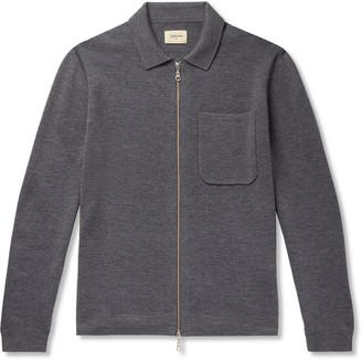 Bellerose Slim-Fit Wool Zip-Up Cardigan