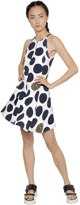 Kenzo Polka Dot Printed Viscose Crepe Dress