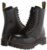 Dr. Martens 8761 (Black Fine Haircell) Men's Lace-up Boots