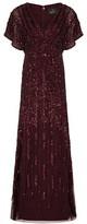 Adrianna Papell Beaded Sequin Dress