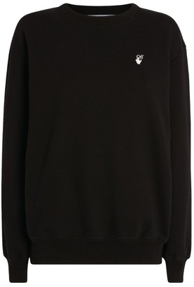 Off-White Embroidered Arrows Sweatshirt