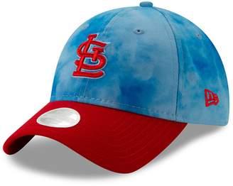 New Era Women's Blue/Red St. Louis Cardinals 2019 Father's Day 9TWENTY Adjustable Hat