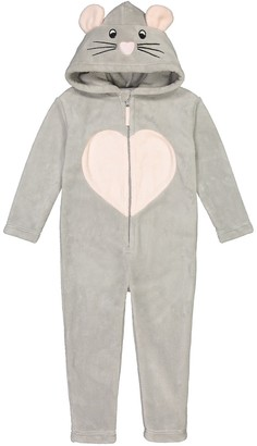 La Redoute Collections Hooded Mouse Onesie, 3-12 Years