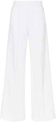 Off-White Wide Leg Side Stripe Track Pants