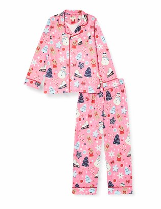 Hatley Girl's Button Down Pajama Set