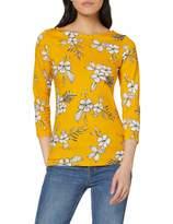 Dorothy Perkins Women's Sketch Floral Print 3/4 Sleeve top. Blouse