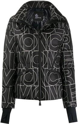 MONCLER GRENOBLE Logo-Print Quilted Jacket
