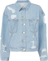Public School Polly Oversized Denim Jacket