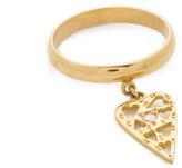 Natasha Zinko Ring with Diamond Heart