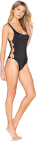 Solid & Striped The Jennifer One Piece in Black. - size M (also in )