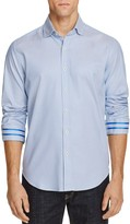 Robert Graham Modern Americana Brodie Diamond Print Slim Fit Button-Down Shirt